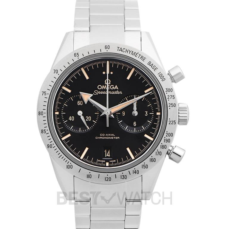 [NEW] Omega Speedmaster '57 Co-Axial Chronograph 41.5mm Automatic Black Dial Steel Men's Watch 331.10.42.51.01.002