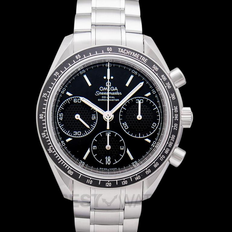 [NEW] Omega Speedmaster Racing Co-Axial Chronograph 40mm Automatic Black Dial Steel Men's Watch 326.30.40.50.01.001