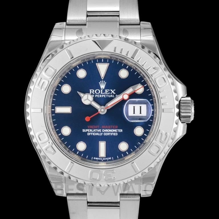 [NEW] Rolex Rolex Yacht-Master 40 Automatic Blue Dial Stainless Steel Oyster Bracelet Men's Watch 116622BLSO 116622
