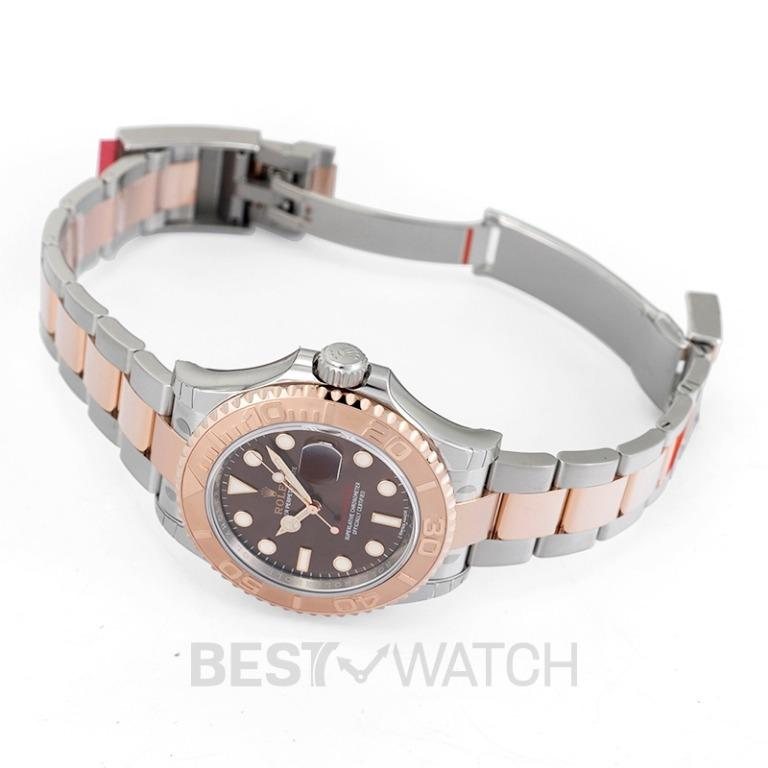 [NEW] Rolex Rolex Yacht-Master Chocolate Dial Steel and 18K Everose Gold Oyster Men's Watch 116621CHSO 116621 Chocolate
