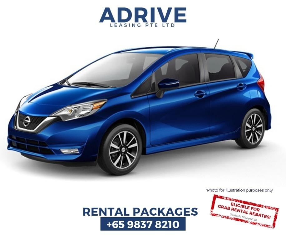 Nissan Note  2019 (No Contract/14 Days Termination Notice)
