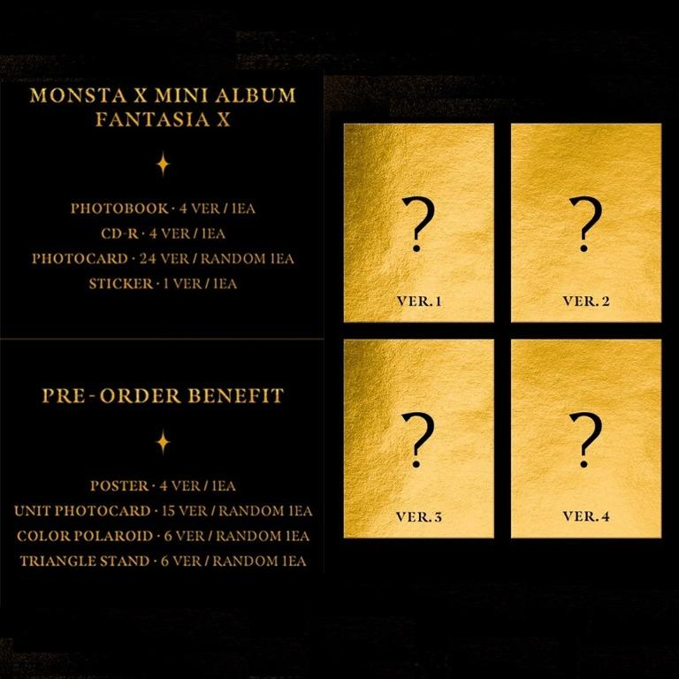 [PREORDER] MONSTA X 몬스타엑스 - FANTASIA X / Mini Album