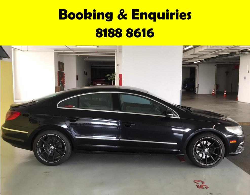 Volkswagen Passat CIRCUIT BREAKER EXTENDED? NOT TO WORRY! WE HAVE THE CHEAPEST RENTAL WITH 50% OFF DURING CIRCUIT BREAKER, just $500 deposit driveaway, No upfront rental required. Whatsapp 8188 8616 now to enjoy special rates!!