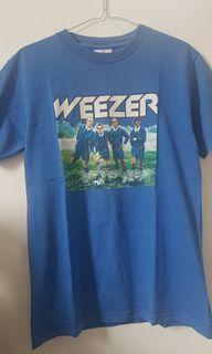kaos band / Tshirt WEEZER Japan World Cup Tour