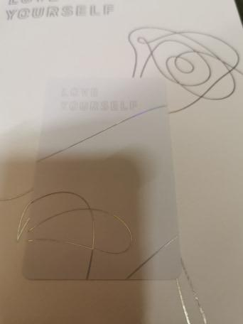 [WTT] Trade BTS Love Yourself: Tear (L ver) Jimin Photocard to V/Jungkook