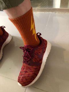 斷捨離-超好穿的23公分36.5碼nike橘鞋