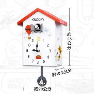Snoopy 史努比 咕咕鐘 無外盒 已貼紙