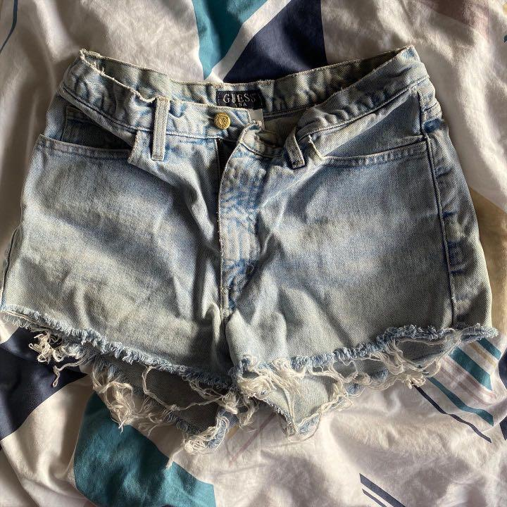 authentic guess shorts