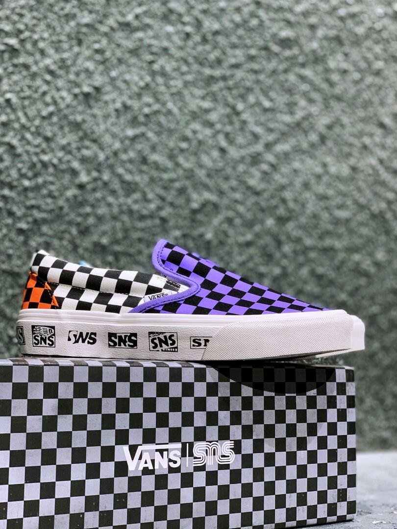 Authentic Sneakersnstuff Vans Vault Venice Beach Pack Sneakersnstuff OG Slip-On LX OG Era LX Vans Era Slip-On SNS Originals SNS Logo - After a few advance notices th