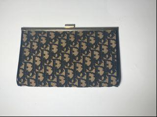 面交 接受 消費券 Dior vintage clutch 金屬釦手拿包 稀少
