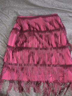 festival tassel skirt