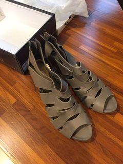GDC專櫃女鞋 高跟羅馬鞋  7 1/2