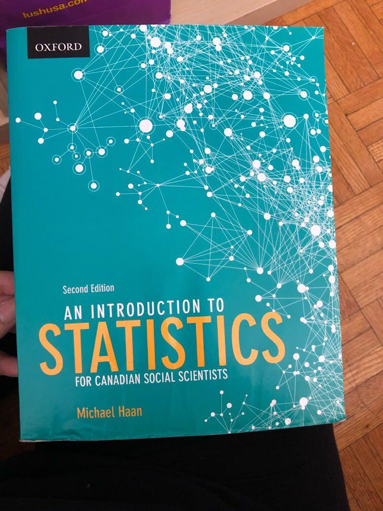 Image of product result An Introduction to Statistics for Canadian Social Scientists by Michael Haan