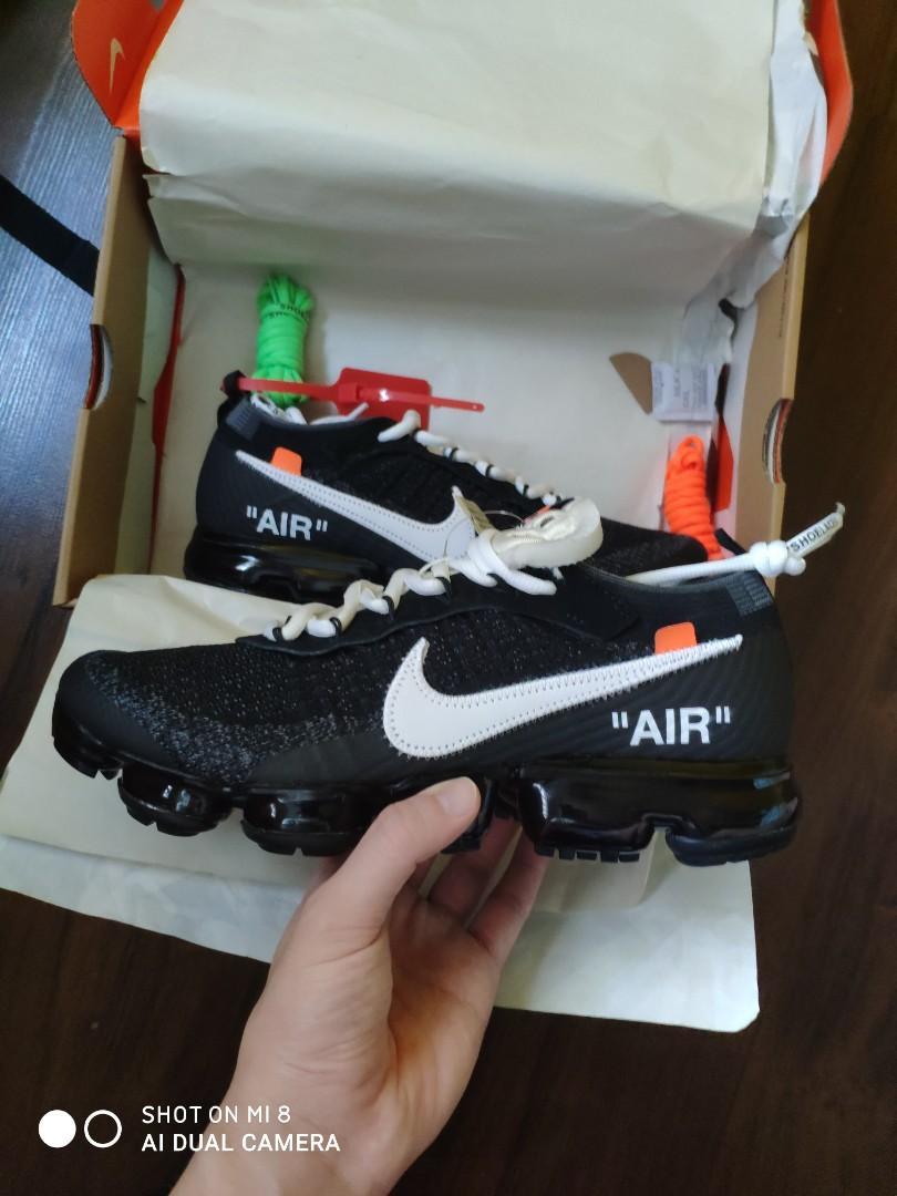 Interacción gusano micro  Nike ow vapormax og/ the ten, Men's Fashion, Footwear, Sneakers on Carousell