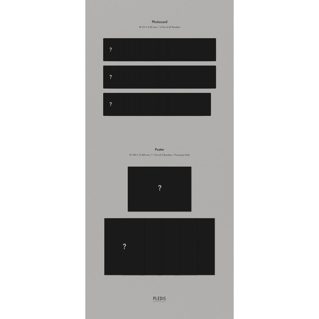 NU'EST - Mini Album Vol.8 [The Nocturne] 4lbums +1Kihno Album