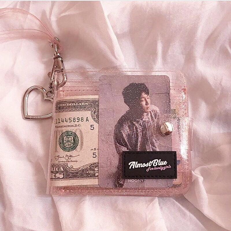 PREORDER  ALMOST BLUE UNOFFICIAL TRANSPARENT WALLET