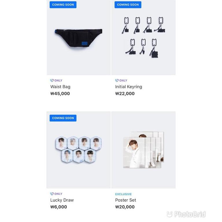 [PREORDER] BTS MAP OF THE SOUL TOUR MERCH COLLECTION