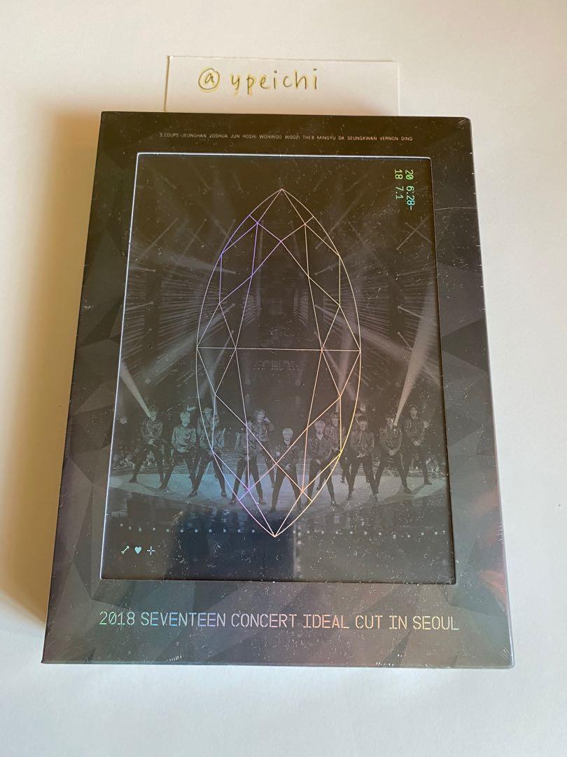 [SEALED] Seventeen 2018 Concert Ideal Cut in Seoul Blu Ray