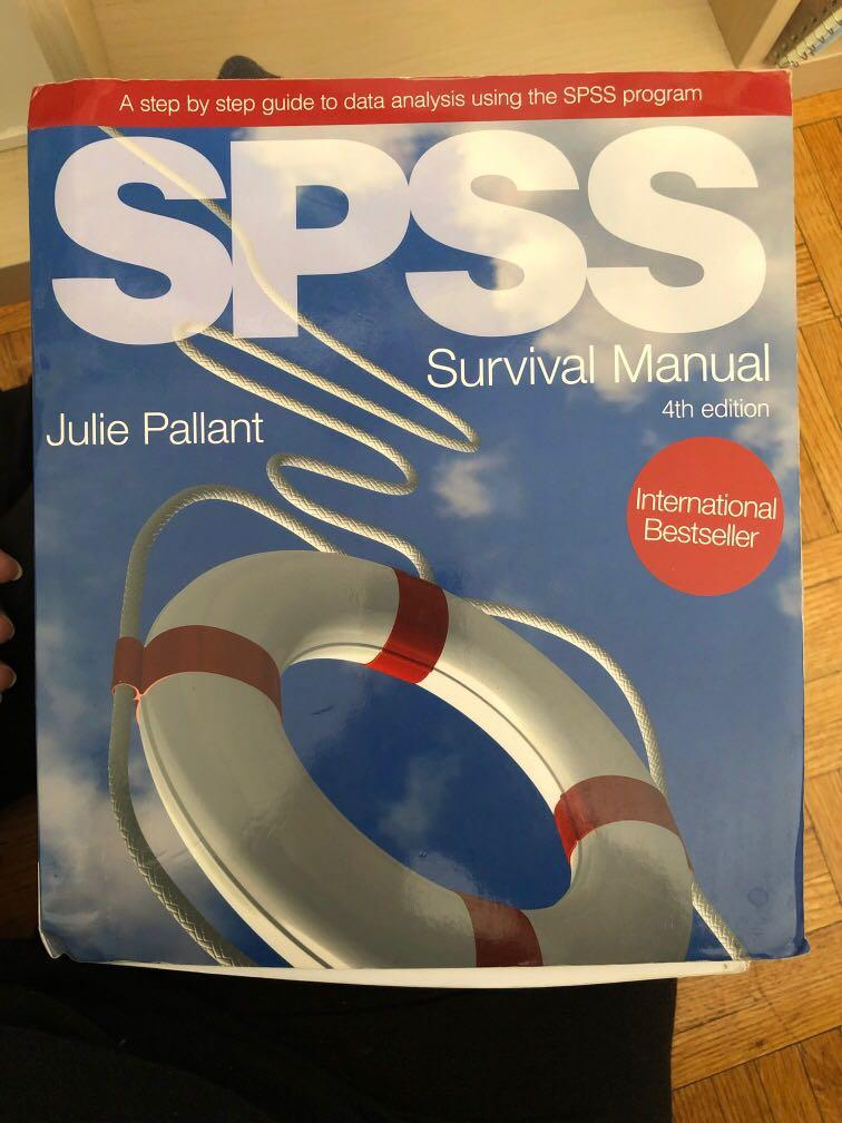 Spss Survival Manual By Julie Pallant (2010, Spiral)