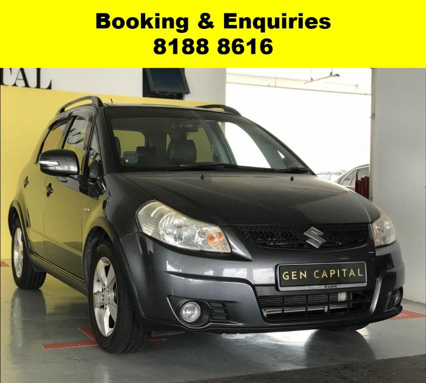 Suzuki SX4 XL CIRCUIT BREAKER PROMO!! THE CHEAPEST RENTAL WITH 50% OFF DURING CIRCUIT BREAKER, just $500 deposit driveaway, No upfront rental required. Whatsapp 8188 8616 now to enjoy special rates!!