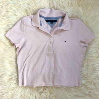 Tommy Hilfiger Cropped Button Up