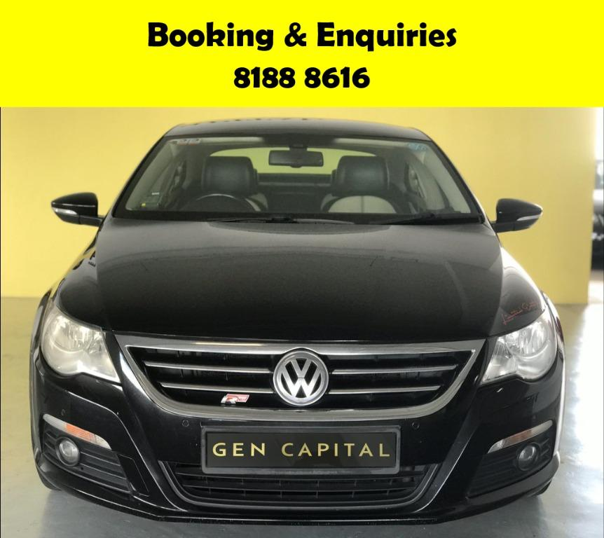 Volkswagen Passat CIRCUIT BREAKER PROMO!! THE CHEAPEST RENTAL WITH 50% OFF DURING CIRCUIT BREAKER, just $500 deposit driveaway, No upfront rental required. Whatsapp 8188 8616 now to enjoy special rates!!