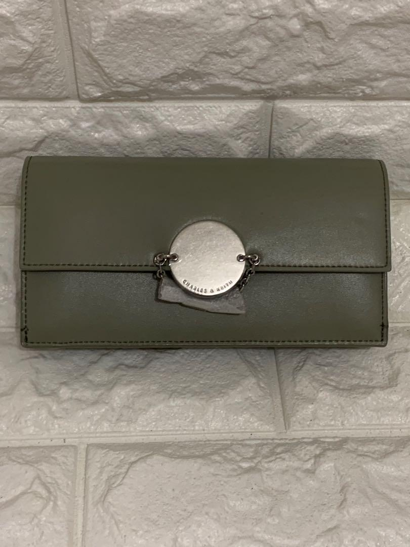 WOC, Charles n Keith, auth, brand new, size 20 cm, full set, full leather, murah