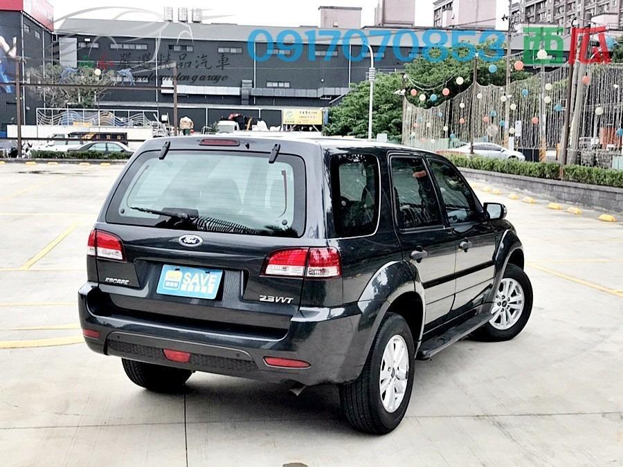 賺錢出遊兩相宜的一台車 內外新 2010年 FORD ESCAPE 2.3 車況超好 包滿意 有工作即可全貸 亦可私分