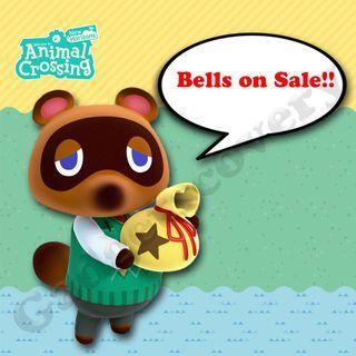 Animal crossing bells