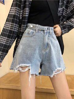 A03 設計感牛仔短褲 [S/M/L/XL]