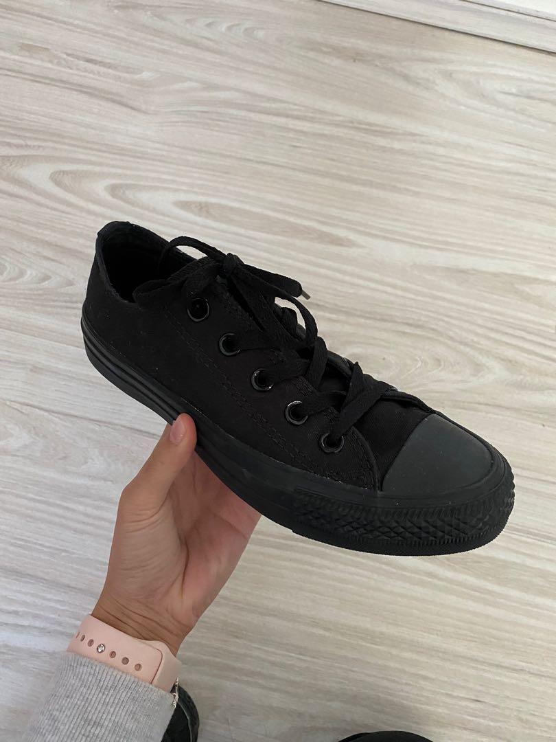 Black Converse Size 6, Women's Fashion