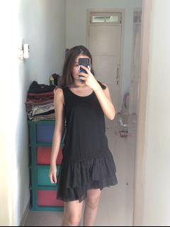 BLACK DRESS SUPER COMFY