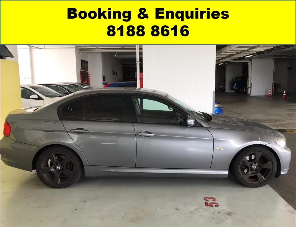 BMW320i ADVANCE BOOKING ONLY! CIRCUIT BREAKER PROMO -THE CHEAPEST RENTAL WITH 50% OFF DURING CIRCUIT BREAKER, just $500 deposit driveaway. Whatsapp 8188 8616 now to enjoy special rates!!