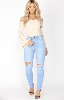Fashion Nova Baby Love Skinny Jeans