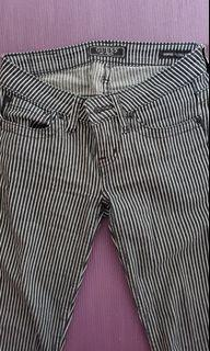 Guess striped low rise