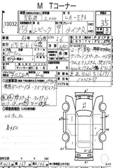 Honda Civic Type R EP3 Manual