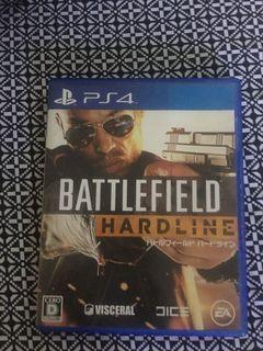 Kaset PS4 Battlefield Hardline