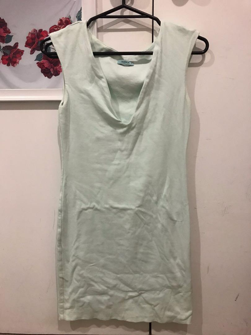 Kookai - mint green dress