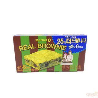 Market O Real Brownie 布朗尼餅 (抹茶味) 6件裝 120g