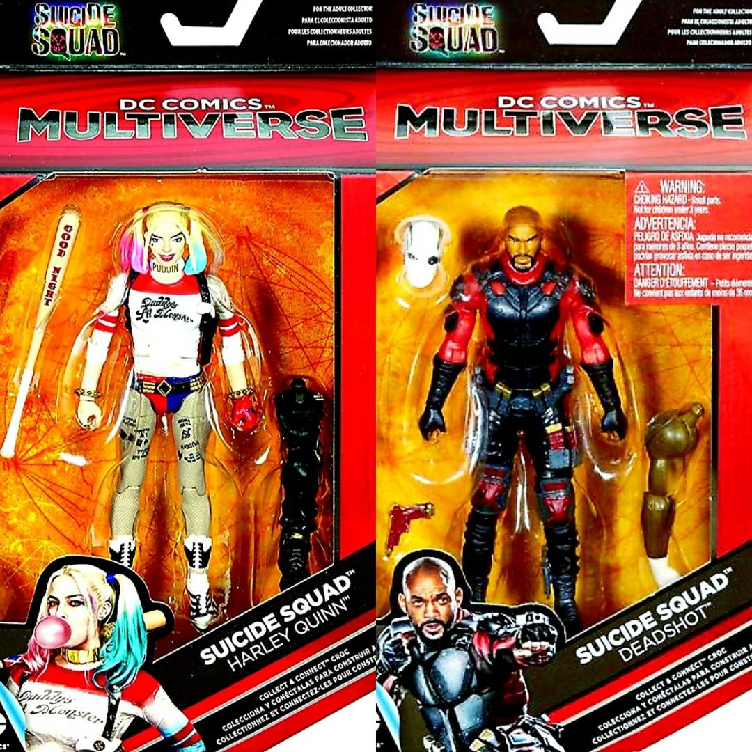 DC Comics Multiverse Suicide Squad Deadshot Action Figure New Sealed