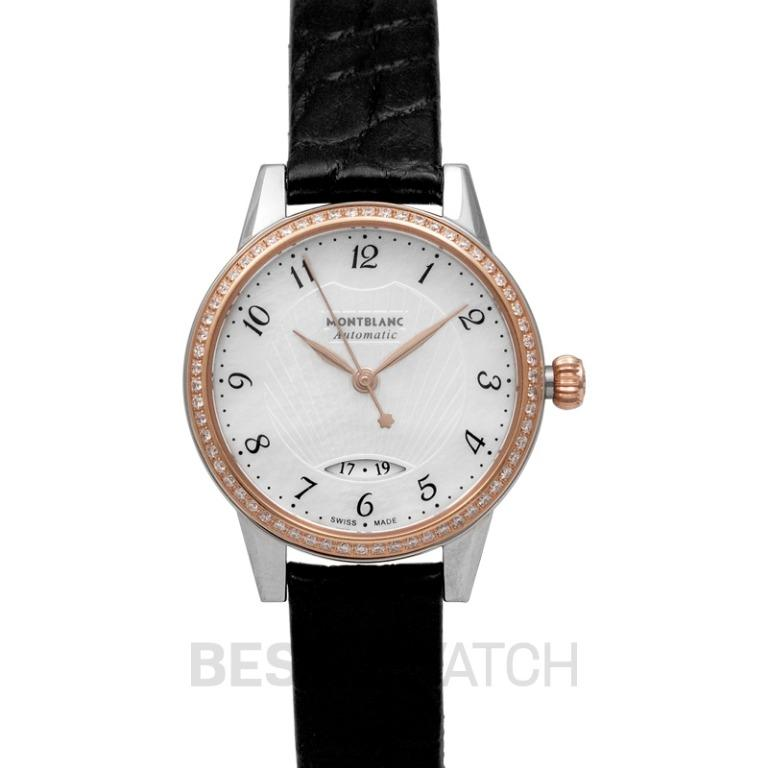 [NEW] Montblanc Bohème Automatic Date 28 mm Automatic Mother Of Pearl Dial with Diamonds Ladies Watch 116500