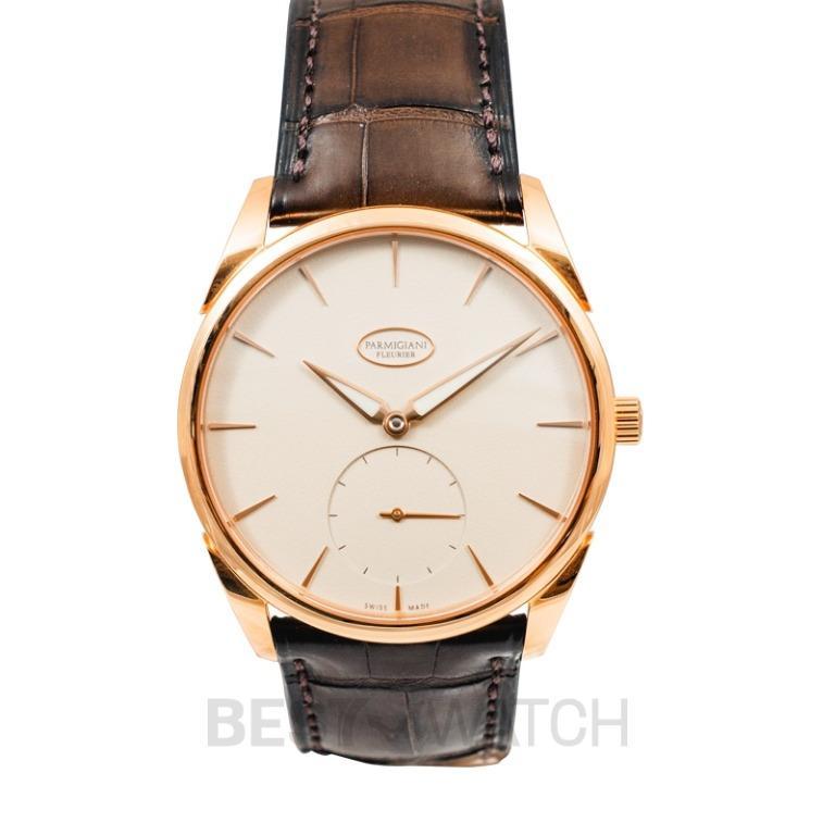 [NEW] Parmigiani Fleurier Tonda 1950 Automatic White Dial 39mm 18ct Rose Gold Men's Watch PFC267-1002400-HA1241