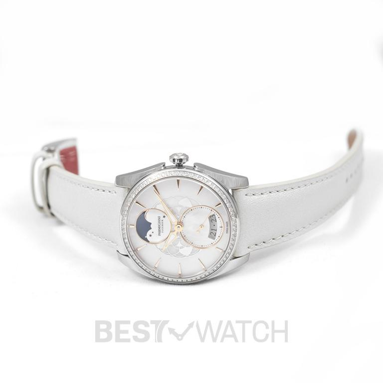 [NEW] Parmigiani Fleurier Tonda Metropolitaine Selene Automatic Mother of pearl Dial 33.70mm Stainless steel Ladies Watch PFC283-0063600-XC2421