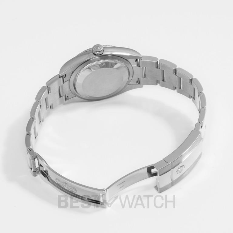 [NEW] Rolex Datejust 36 Automatic Silver Dial Oystersteel and 18 ct White Gold Ladies Watch 126234 Sliver Oyster