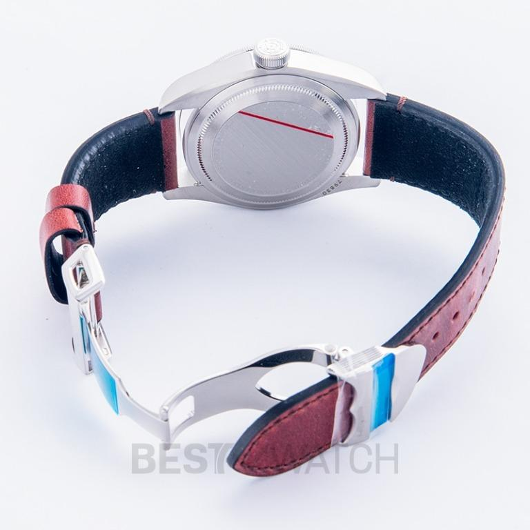 [NEW] Tudor Heritage Black Bay Pepsi Blue and Red Bezel Stainless Steel Automatic Black Dial Men's Watch 79830RB-0002