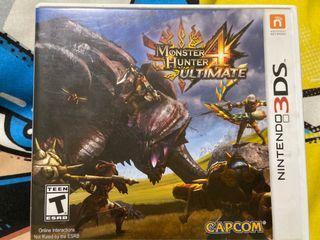 """Nintendo 3DS """"Monster Hunter 4 Ultimate"""""""