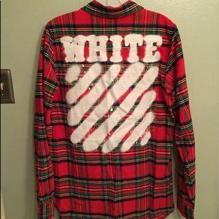 off white 正品襯衫外套