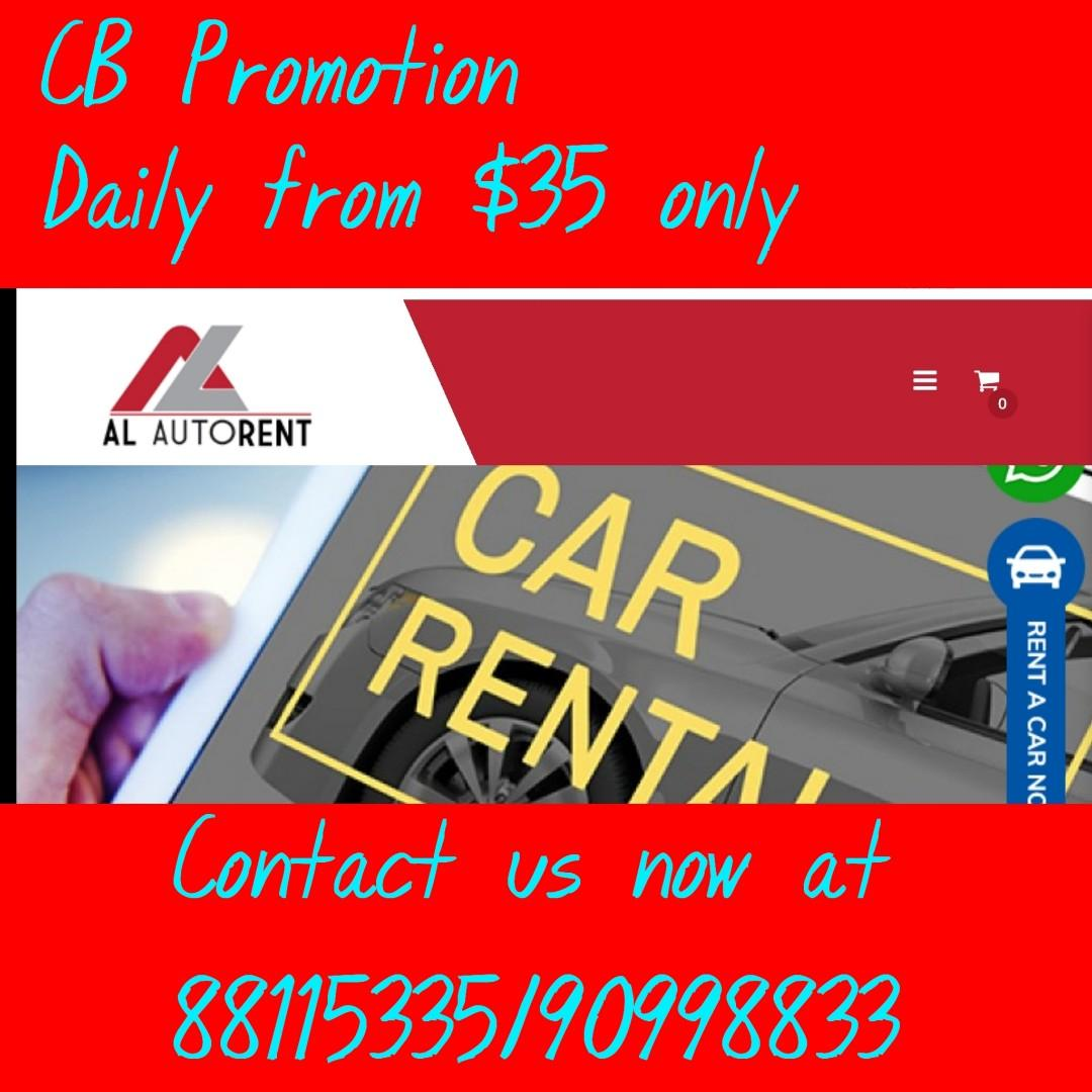 Promo rates during CB period . Contact us at 88115335/90998833