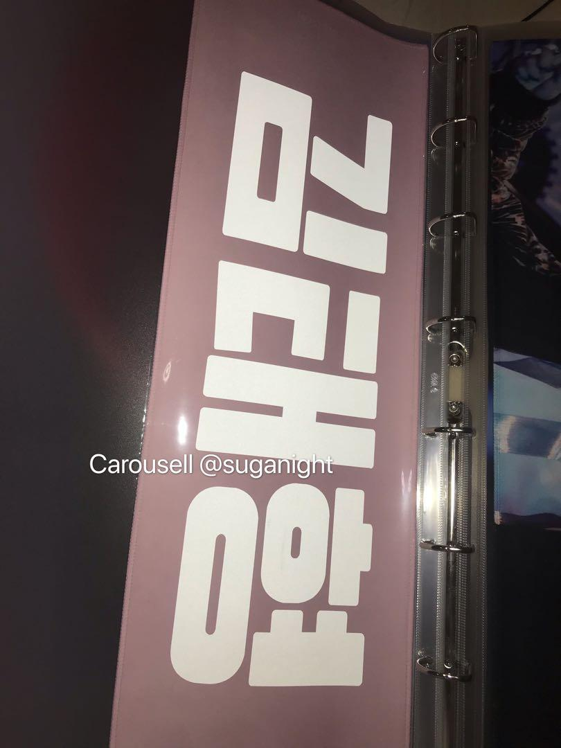 [READYSTOCK] Kim Taehyung / V Slogan / Cheering Kit / Cheering Slogan
