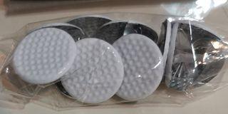 Scrapbooking Golf balls Brads / paper fasteners (#793  kids crafts eyelets photographs hobbies)